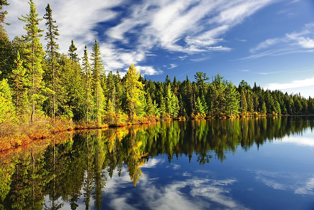 Algonquin Provincial Park offers beautiful scenery, only a few hours drive from Toronto.