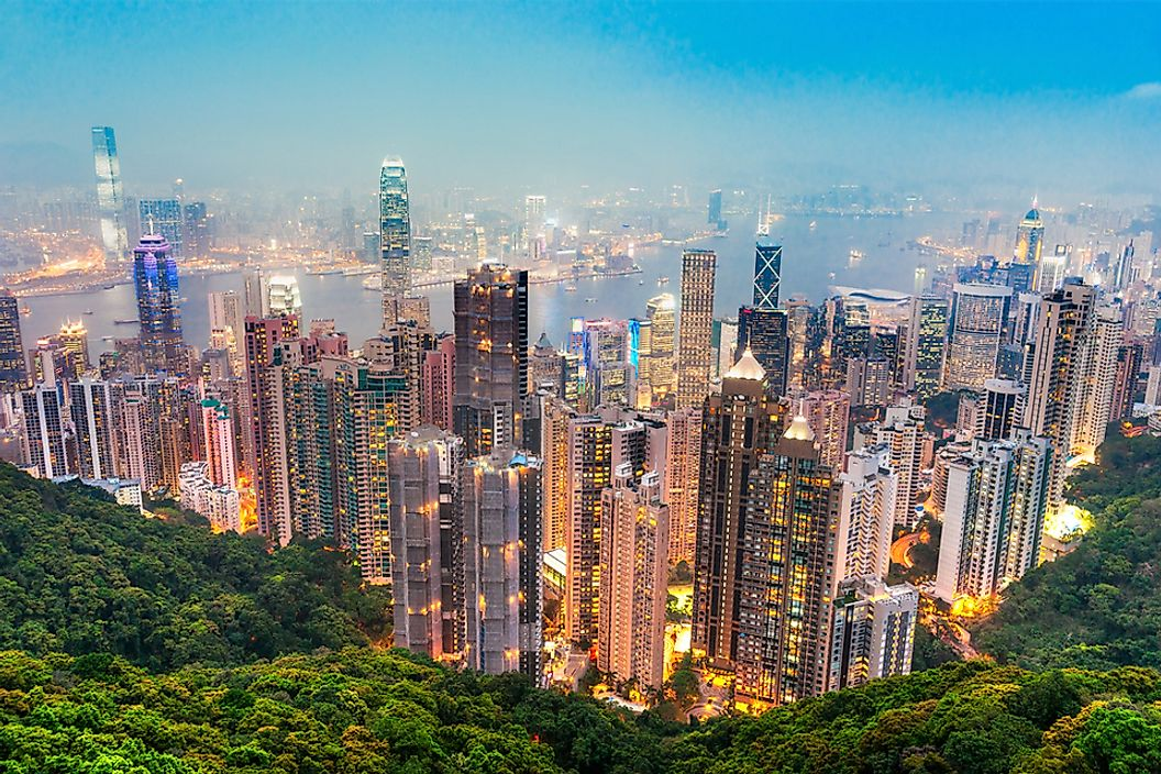 Hong Kong is located in East Asia.
