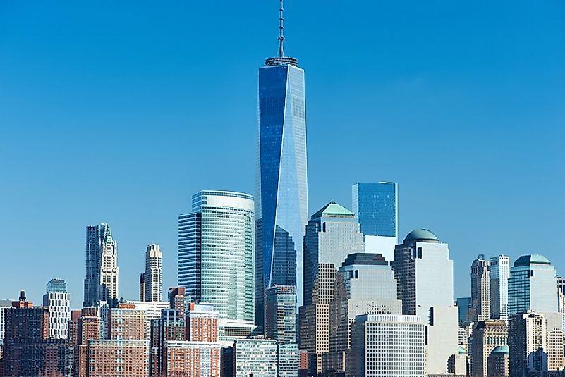 #1 One World Trade Center, New York City - 1,776 Feet