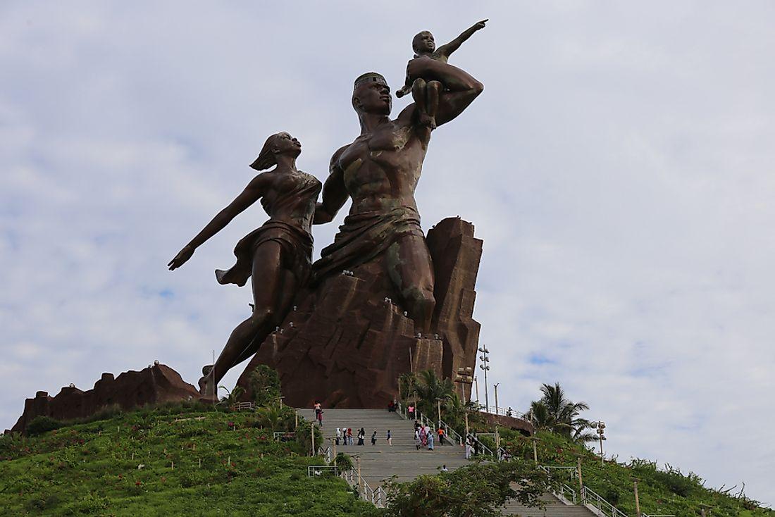What Is The African Renaissance Monument? - WorldAtlas