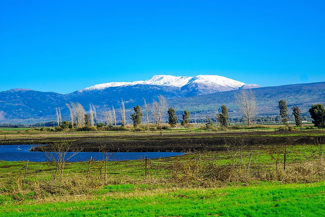 Mount Hermon is the tallest peak that is partially found in Israel.
