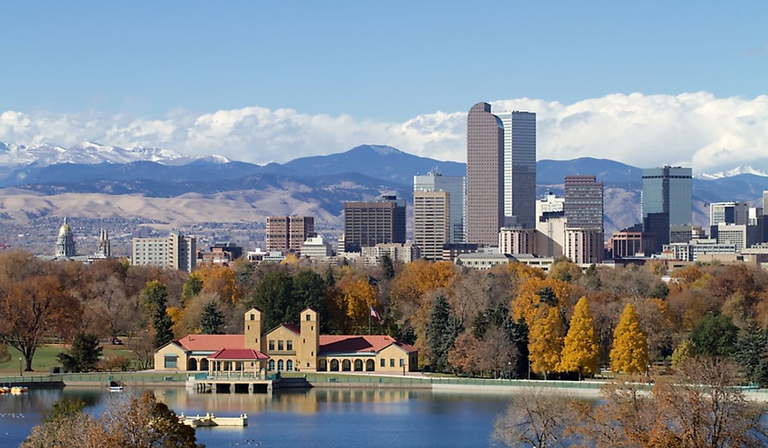 Denver is the capital city of the US state of Colorado.
