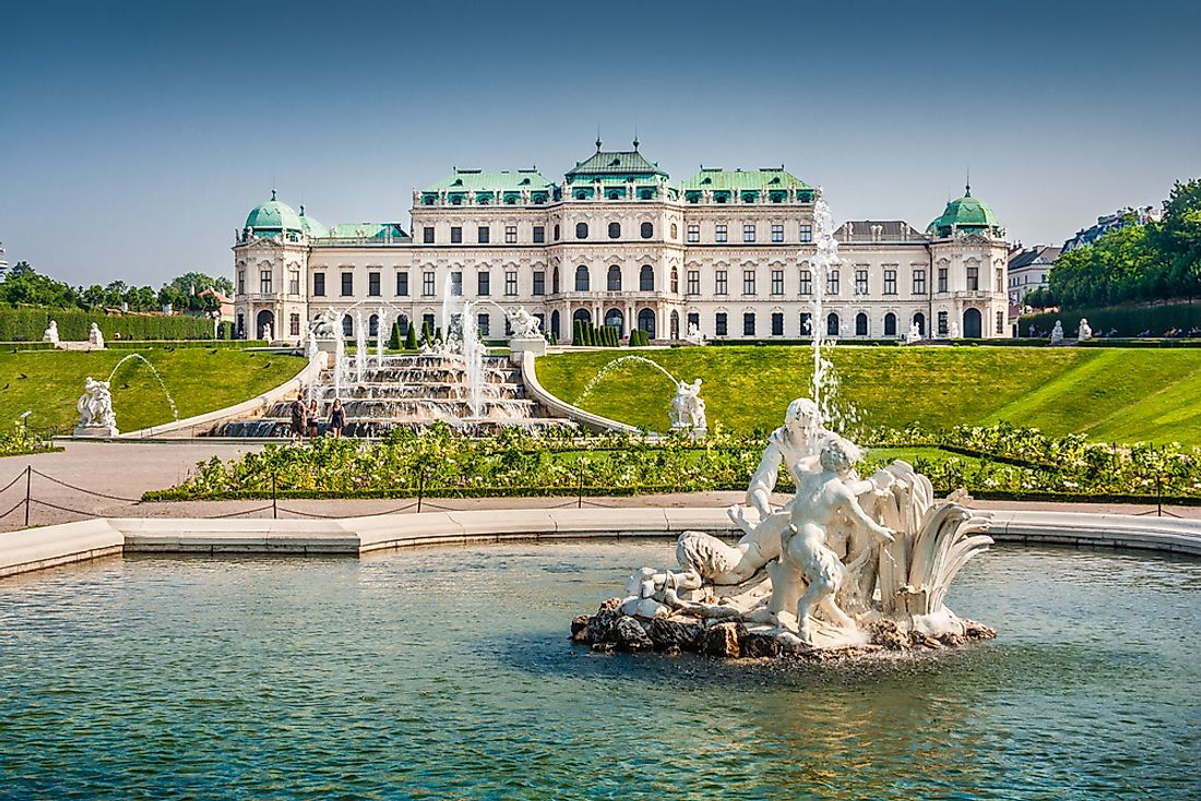 Aside from holding a world-class museum, the Belvedere Palace is listed as a UNESCO World Heritage Site.
