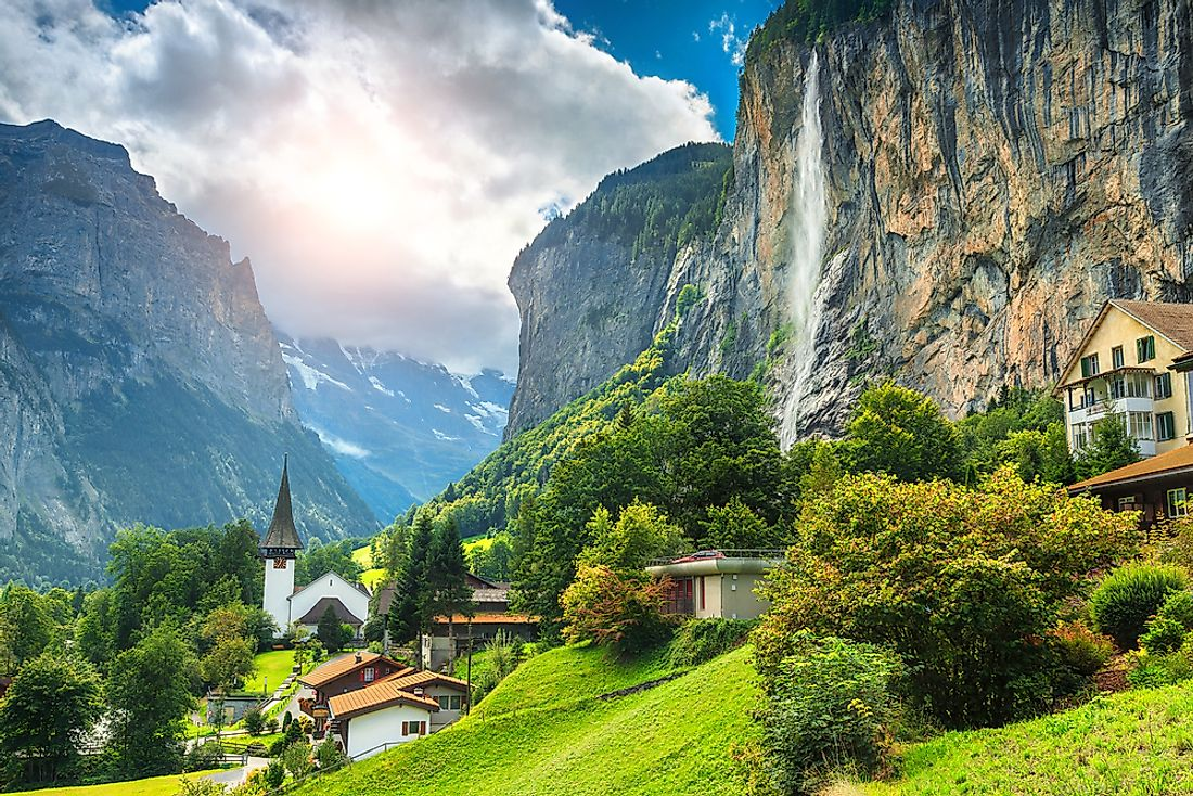Many of the world's most exclusive boarding schools are found in Switzerland.