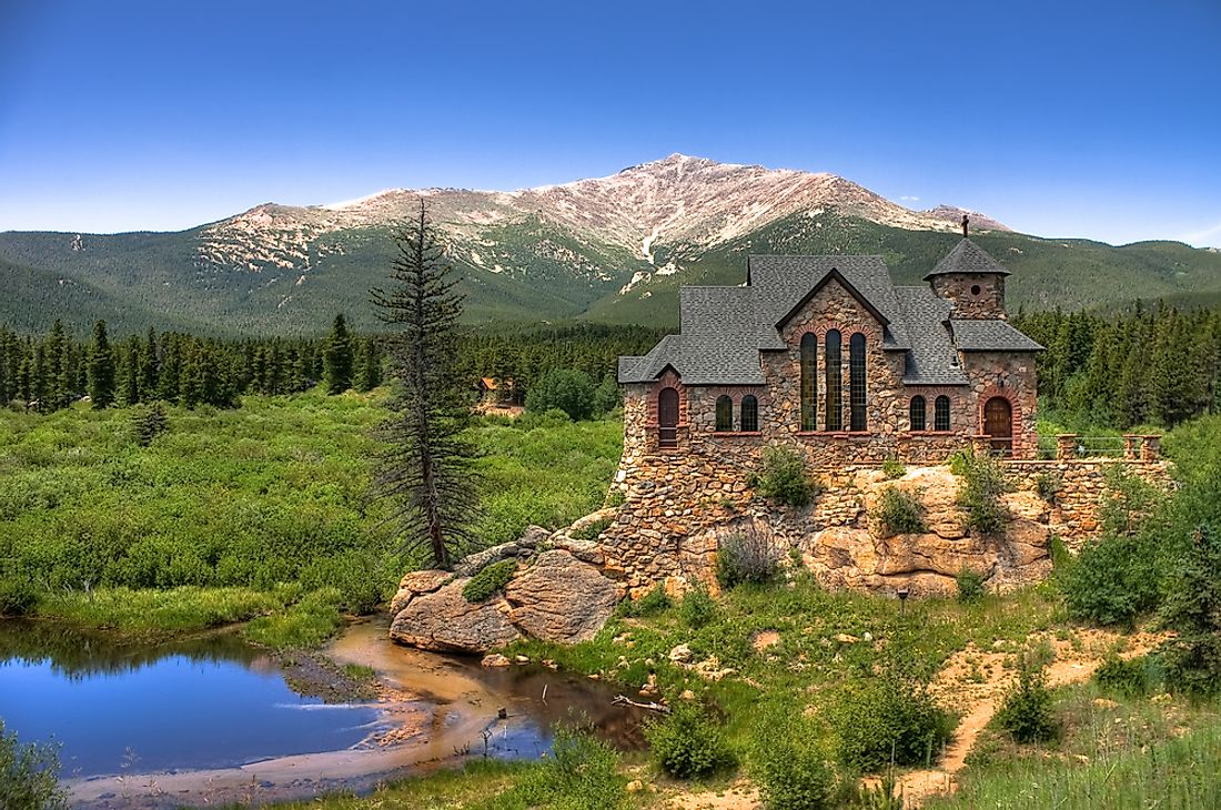 Saint Catherine of Siena Chapel, better known as Chapel on the Rock, is a Catholic church in Colorado.