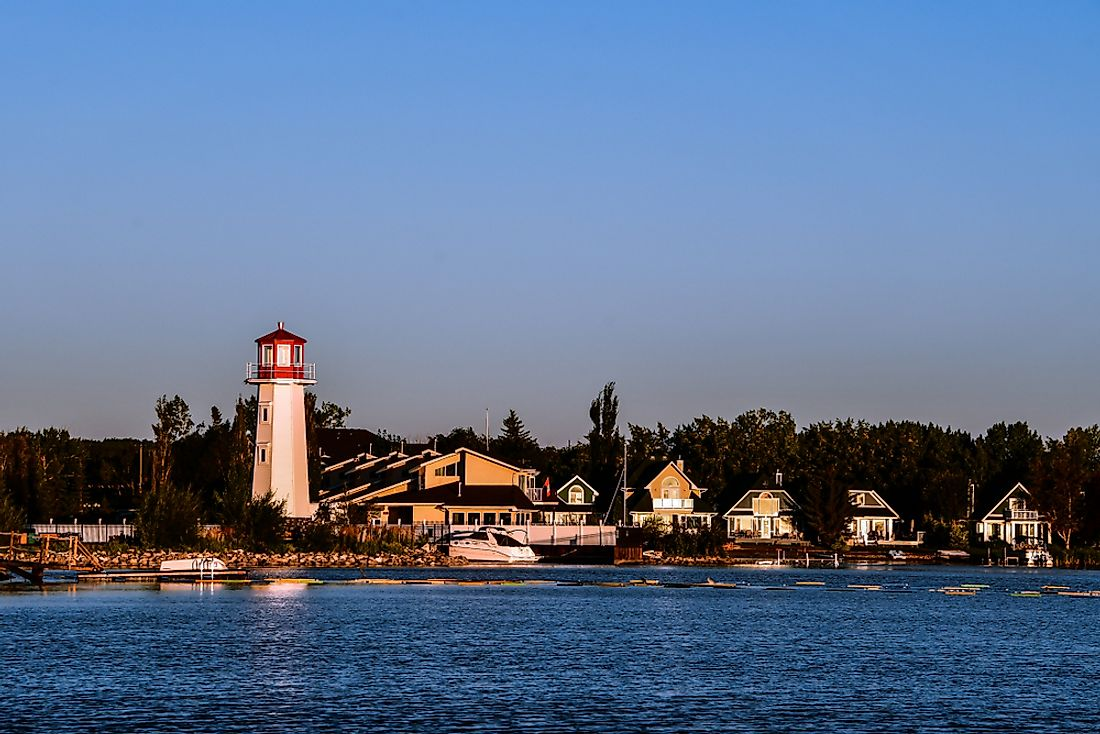 Sylvan Lake is a vibrant lakeside community in Alberta.