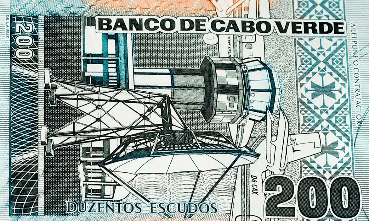 A banknote from Cape Verde.