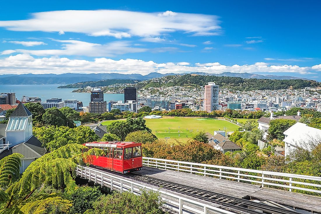 Wellington, New Zealand. New Zealand is the world's least corrupt country.