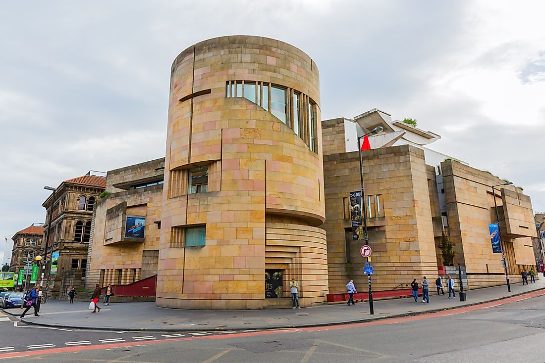 The National Museum of Scotland is a free attraction in Edinburgh. Editorial credit: Christian Mueller / Shutterstock.com.