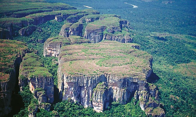Chiribiquete National Natural Park, UNESCO World Heritage Site in Colombia