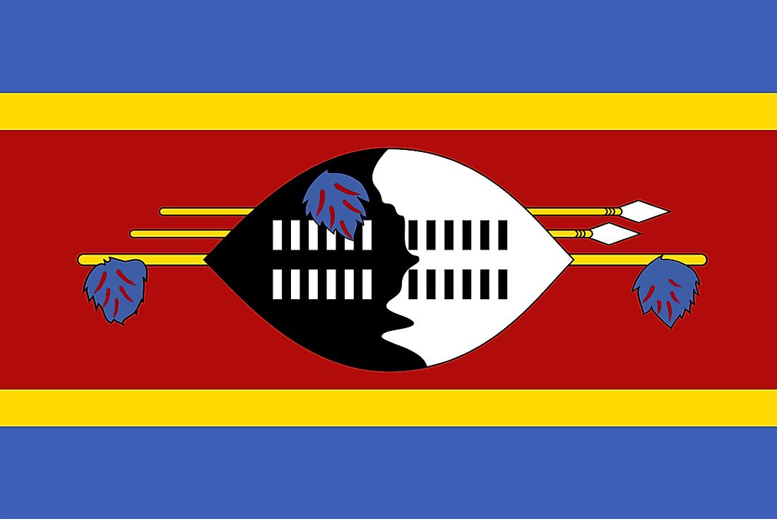 Swaziland Map Geography Of Swaziland Map Of Swaziland - Swaziland map