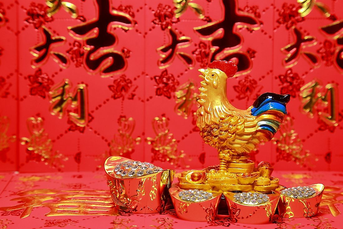 Celebrating the year of the Rooster.