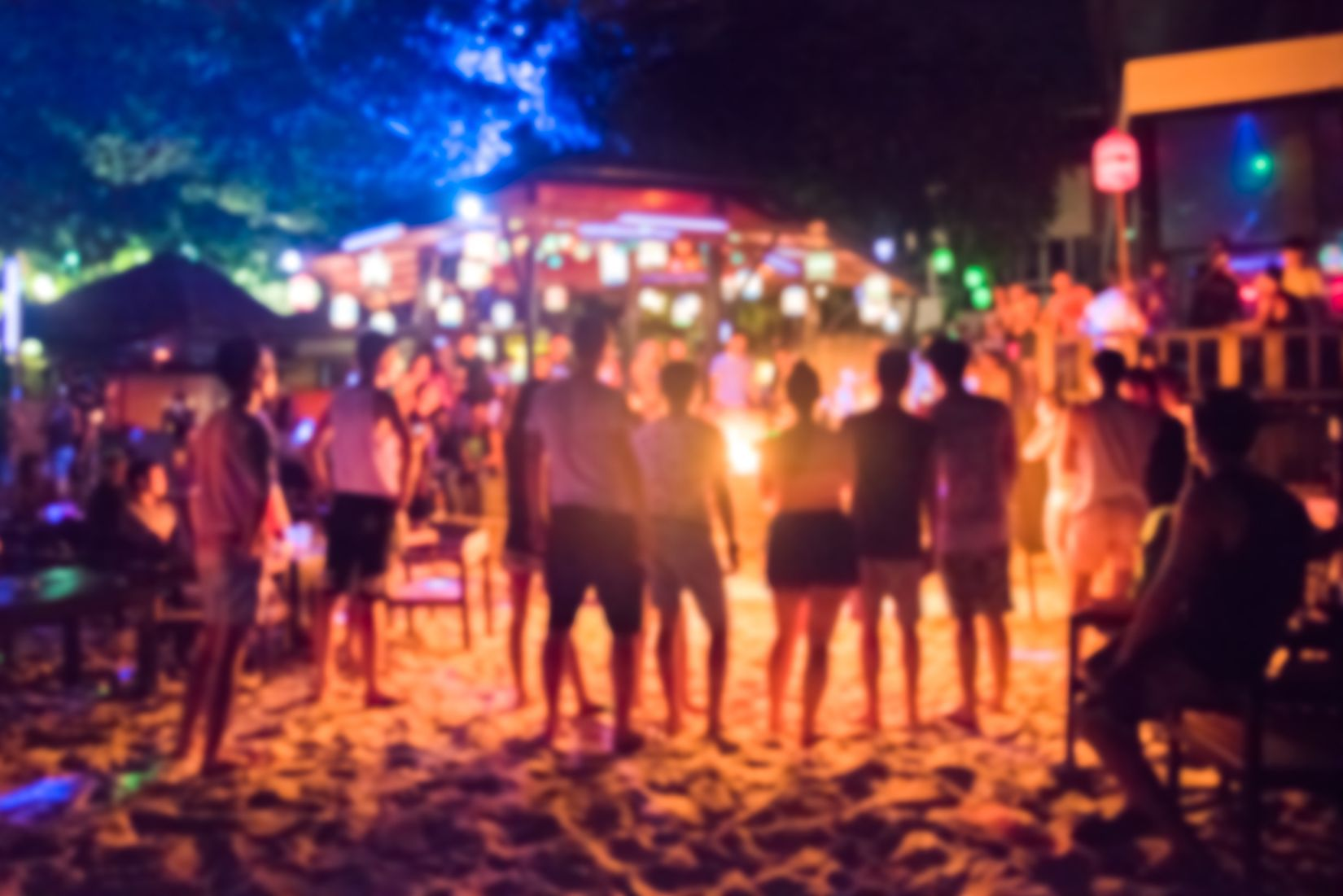 Beach lights at night can disorient marine wildlife. Image credit: aon168/Shutterstock.com