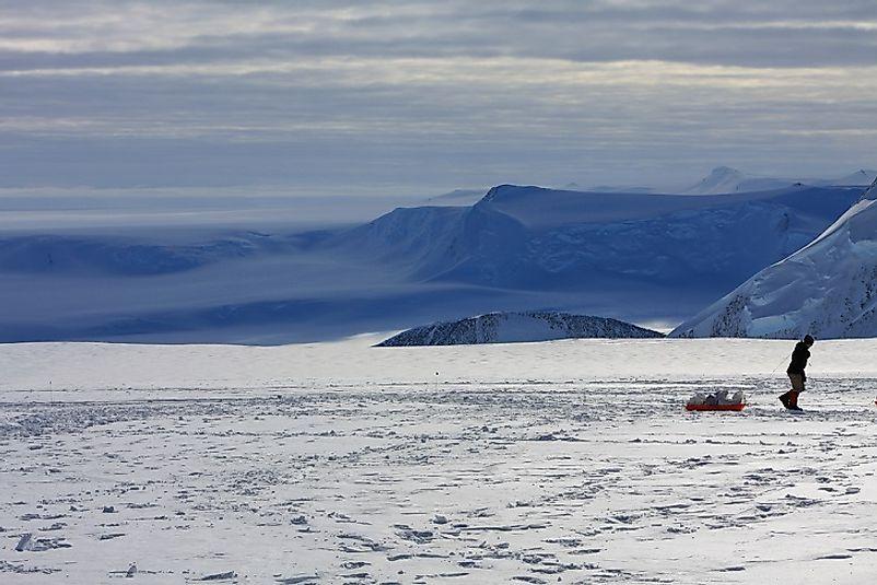 #5 Antarctica (7,545 feet)