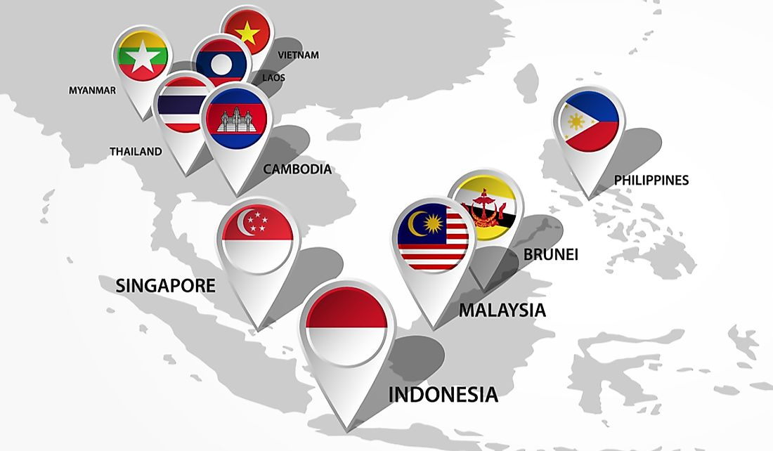 ASEAN Countries - WorldAtlas