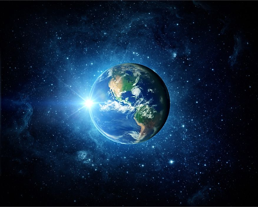 Earth is the third planet from the Sun.