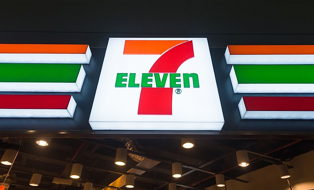 A 7 Eleven in Malaysia. Editorial credit: withGod / Shutterstock.com.