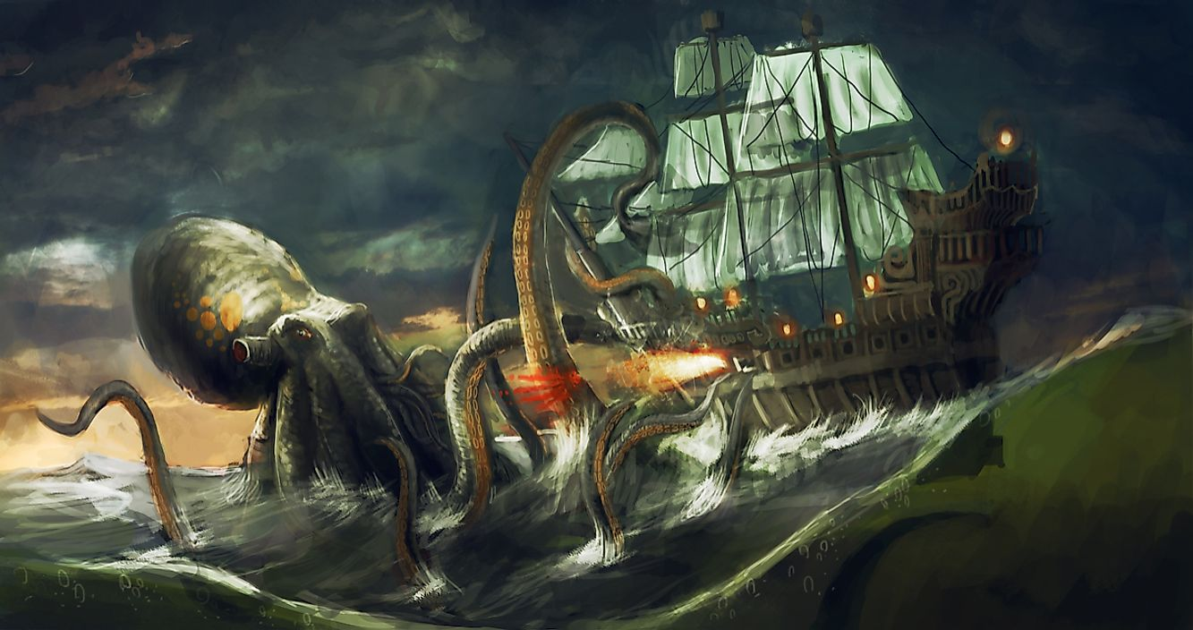 The legend of the Kraken is still recited today.