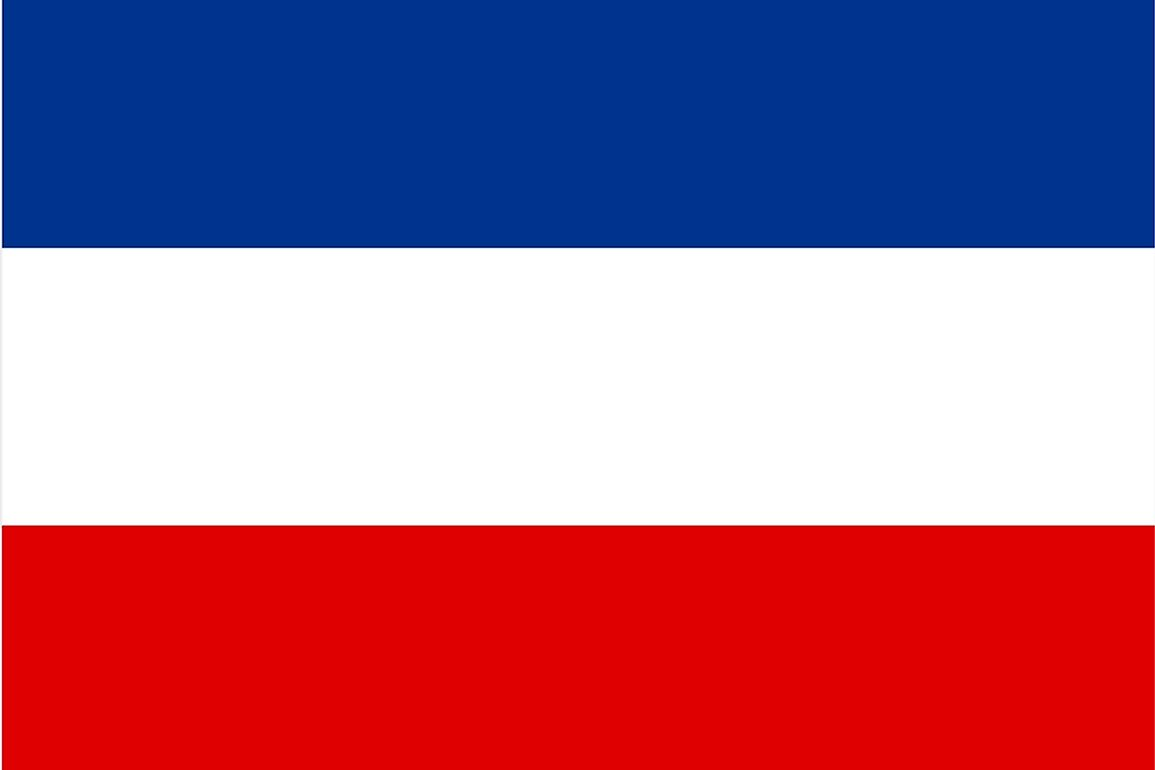 The Pan-Slavic flag approved in 1848.