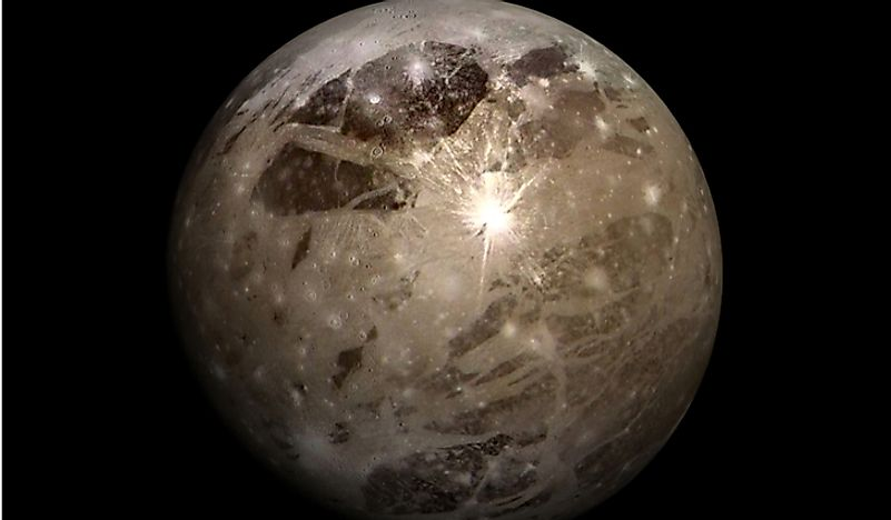 Ganymede is both the largest of Jupiter's 79 moons and the largest moon in our Solar System.