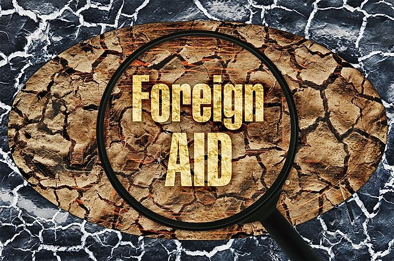 Sometimes governments must take a closer look as to why they can't seem to secure any foreign assistance.