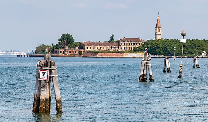"The mysterious, supposedly ""haunted"", Italian island of Poveglia."