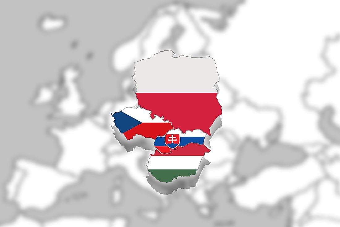 Hungary, Poland, Slovakia, and the Czech Republic make up the Visegrad Four.