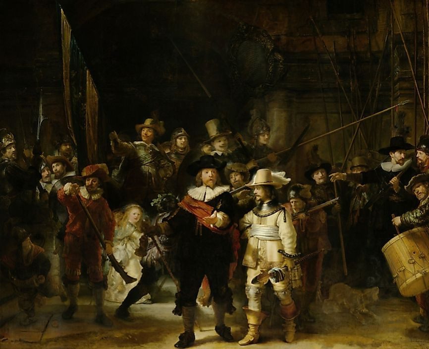 Rembrandt's The Night Watch.