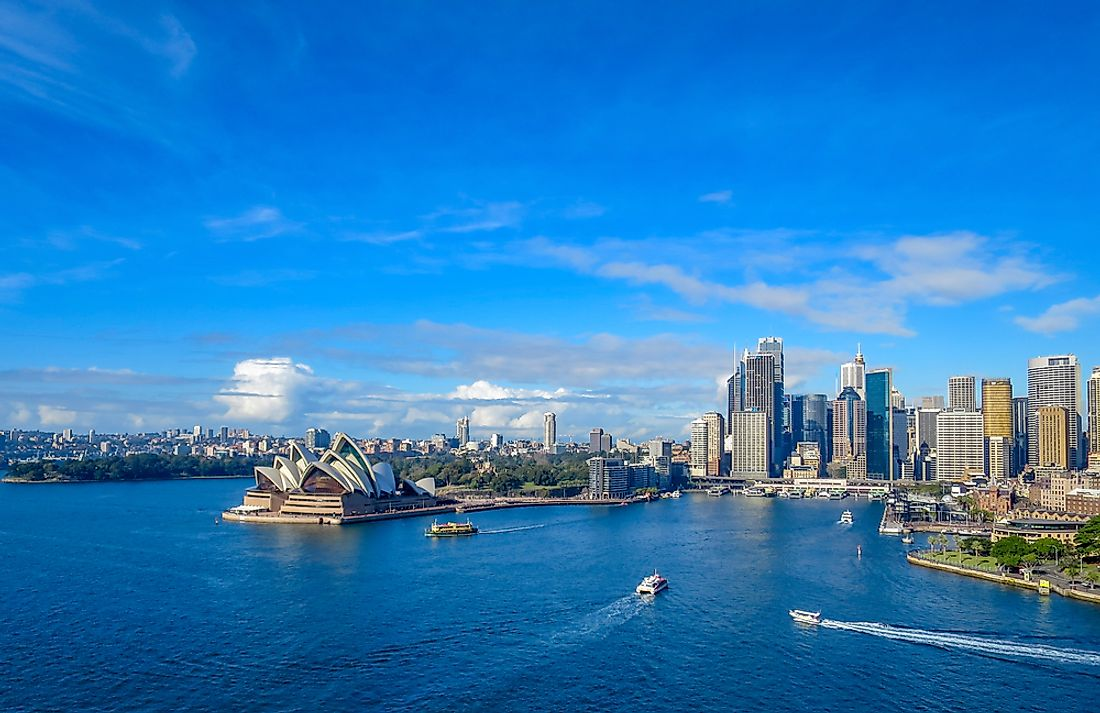 Sydney, where the University of New South Wales is located,