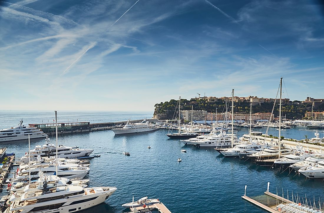 Monaco has the world's highest average age.