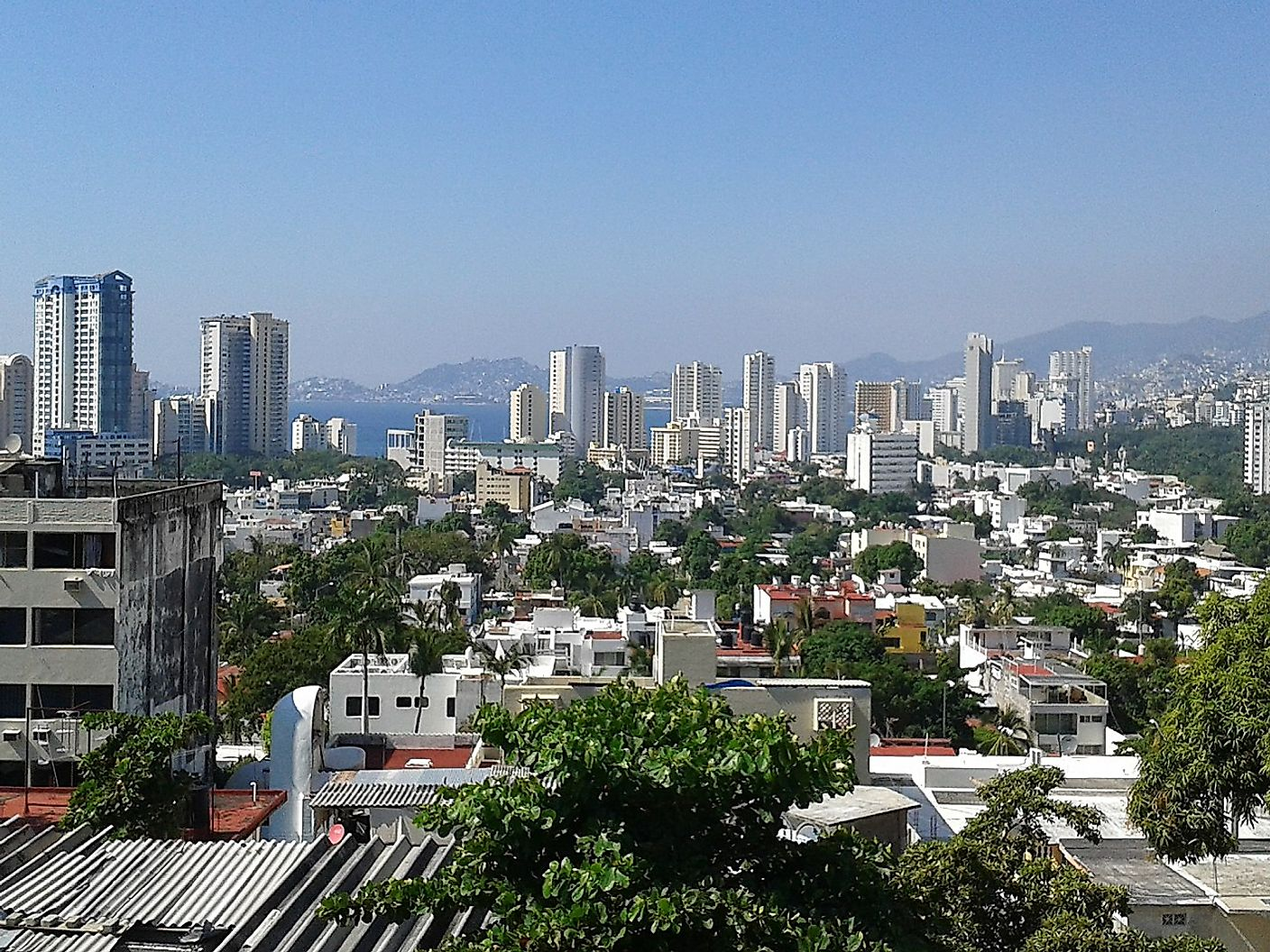 1280px acapulco zona hotelera 02 The Most Dangerous Cities In The World