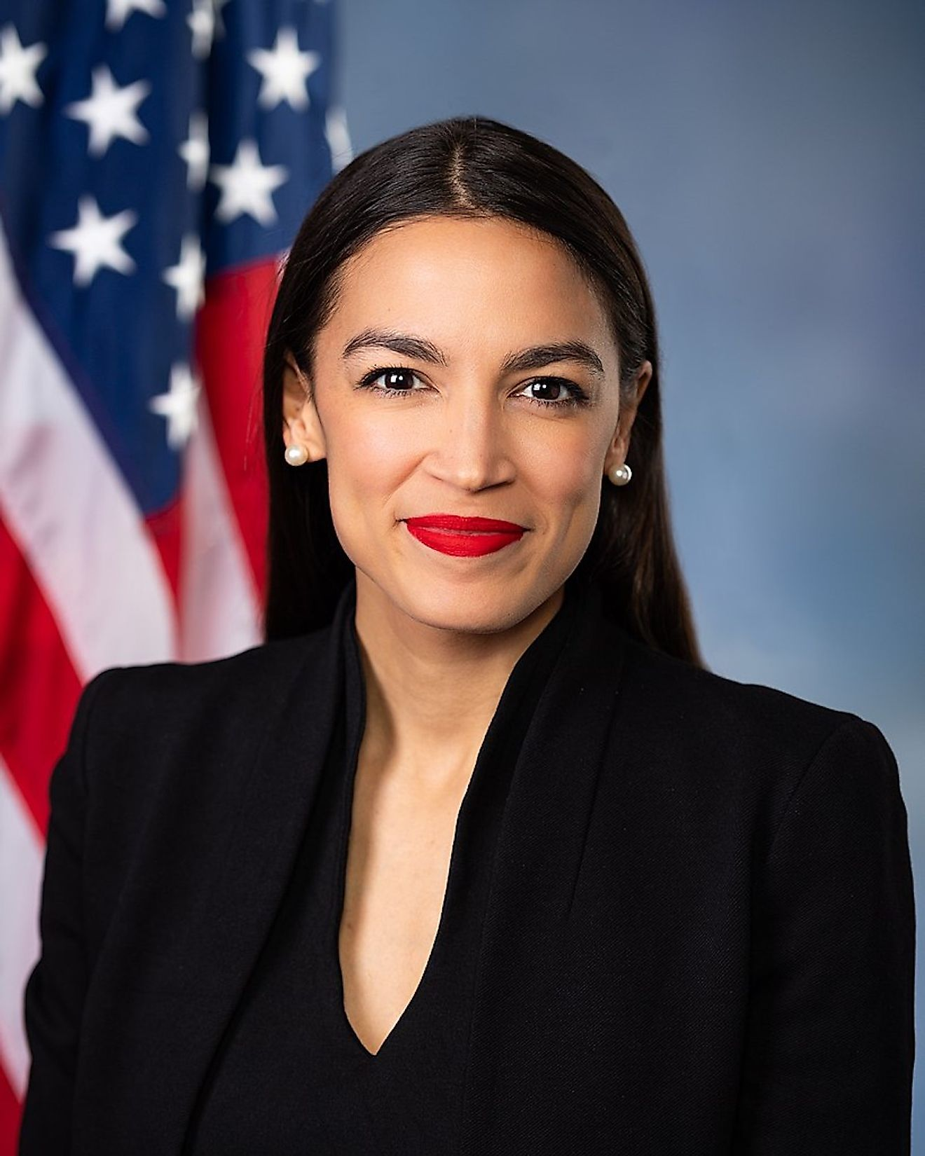 Alexandra Ocasio-Cortez. Image credit: Franmarie Metzler; U.S. House Office of Photography/Public domain