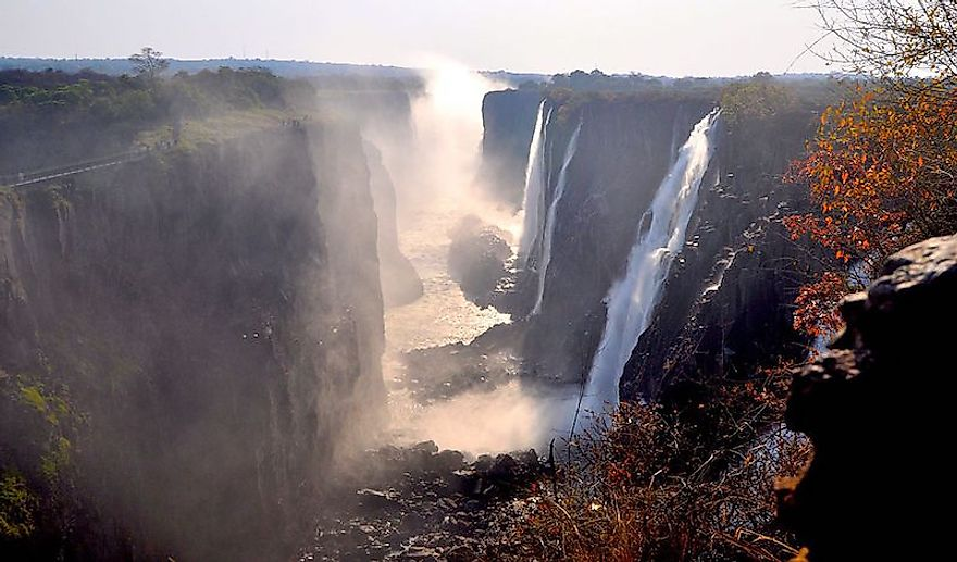 The Victoria Falls is famous across the world for its amazing beauty and grandeur.