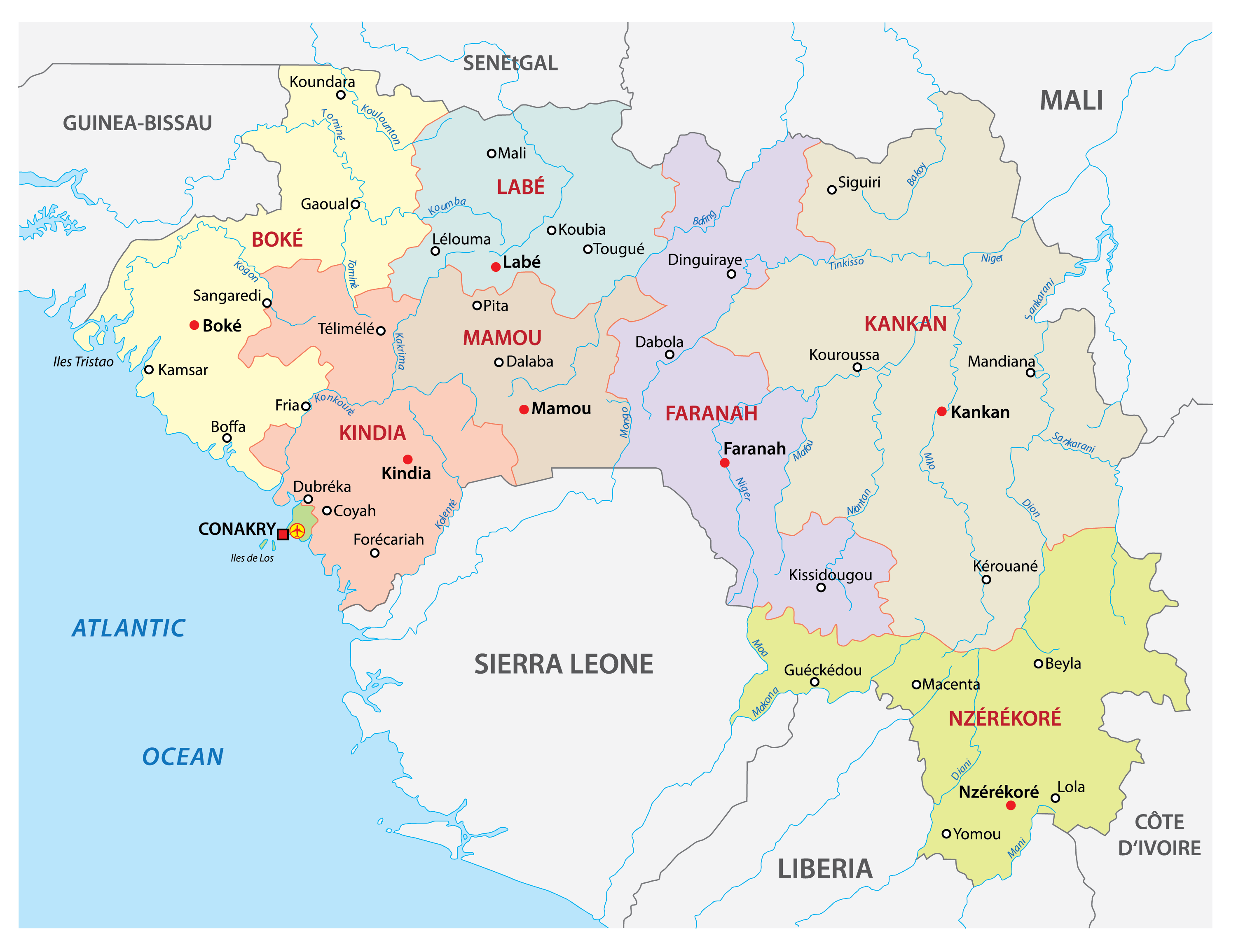 Picture of: Guinea Maps Facts World Atlas