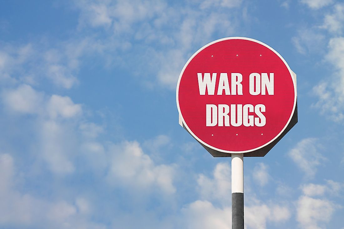 The war on drugs is considered to be a failure by many of its critics.