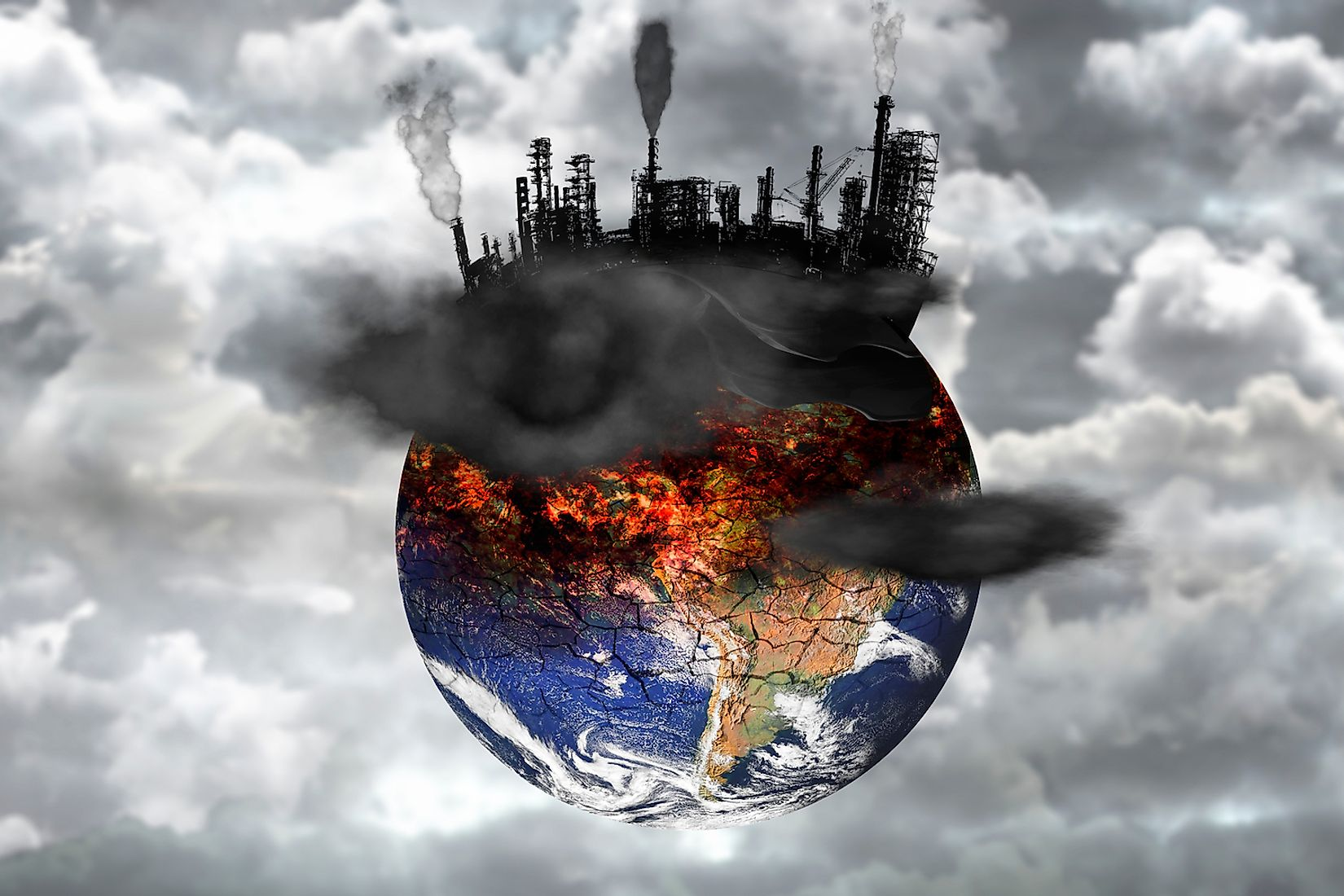 Pollution of the environment is one of the biggest threats to lifeforms on Earth today. Image credit: Martina Badini/Shutterstock.com