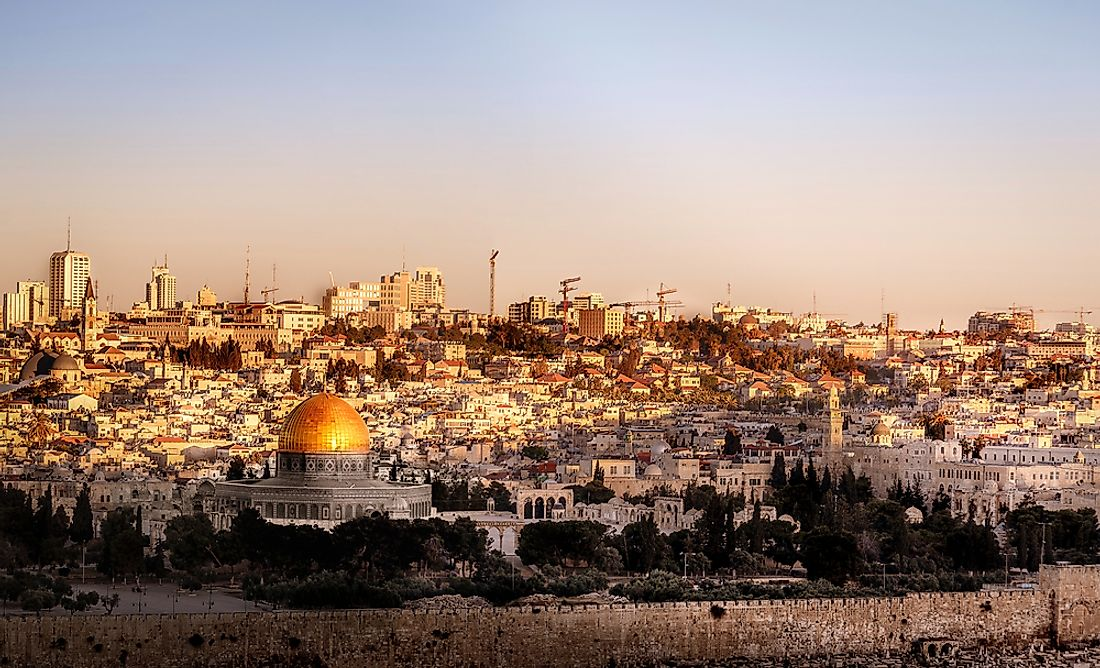 Jerusalem dates as far back as about 5,000 years having been mentioned in Biblical stories.