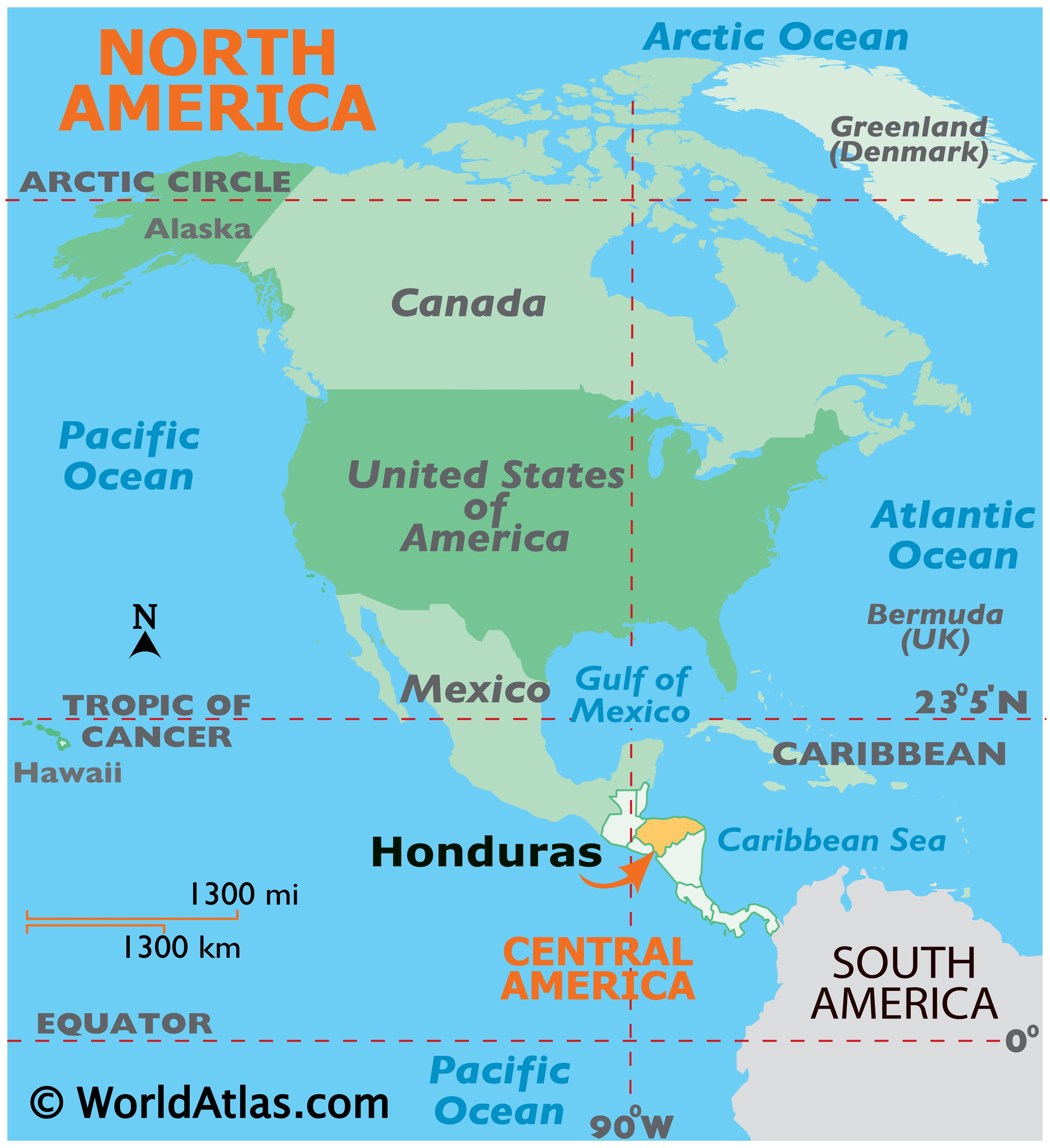 Where is Honduras?