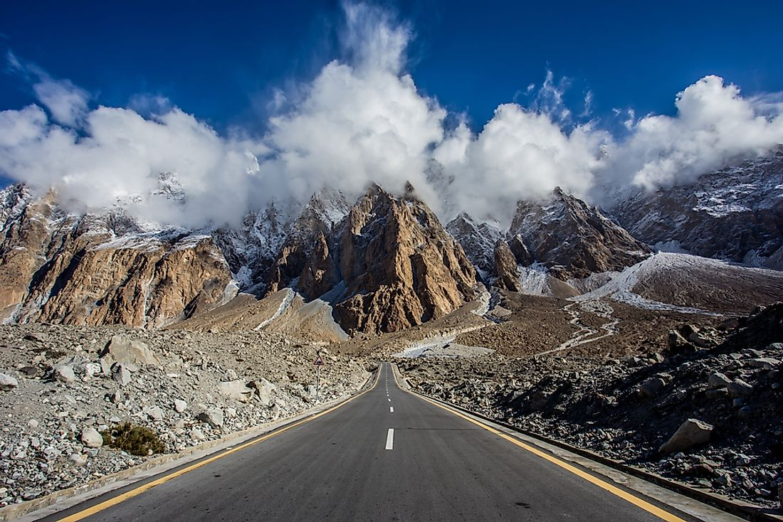 "Due to its unique features, the Karakoram highway has been called the ""Eighth Wonder of the World""."