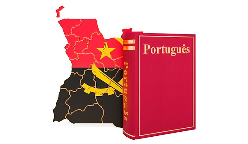 The official language of Angola is Portuguese.