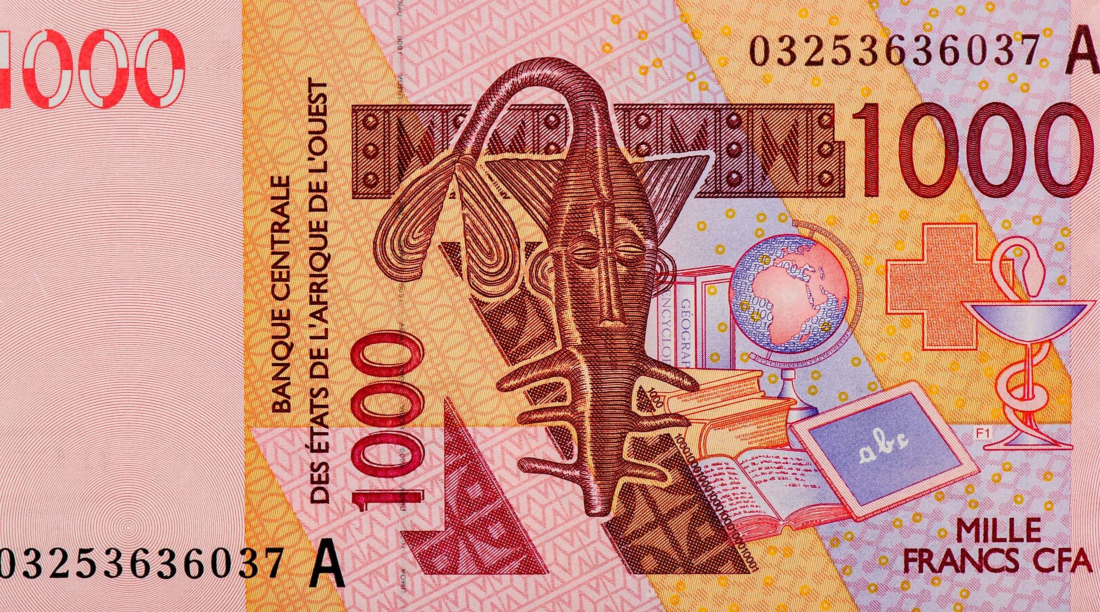 West African CFA francs.