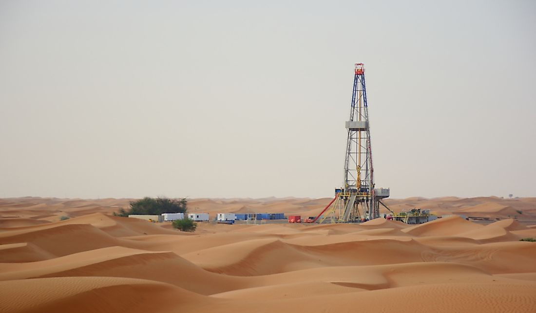 Oil is an important and highly exploited natural resource for the UAE.