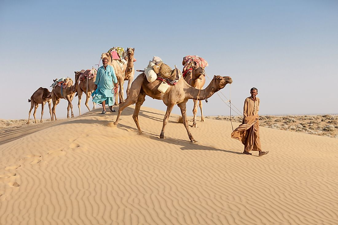 The Great Indian Desert.