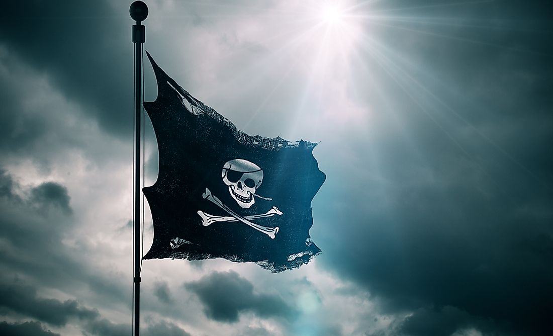 Hot spots of modern piracy are the Red Sea, the Indian Ocean, off the Somali coast, in the Strait of Malacca, Danube River and the Caribbean.