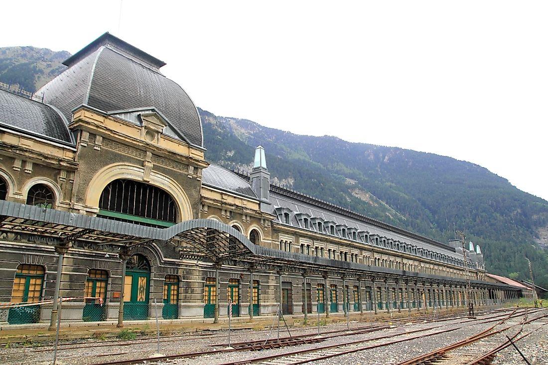 #8 Canfranc Rail Station - Spain