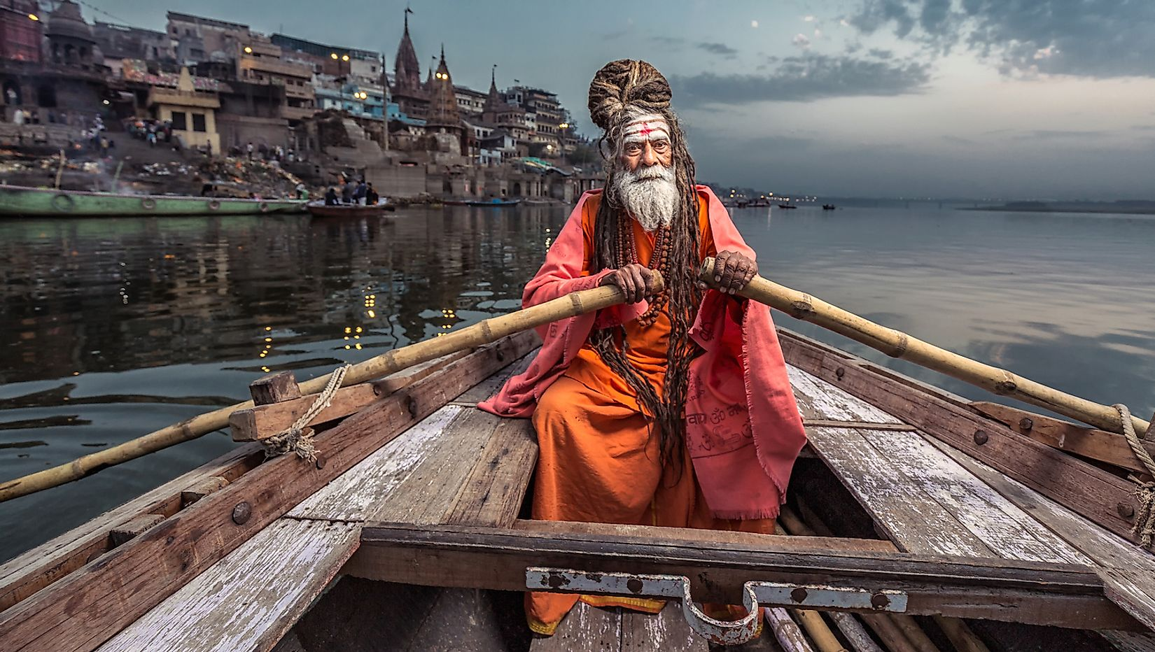 Portrait of a Hindu ascetic in India. Image credit: Ruslan Kalnitsky/Shutterstock.com