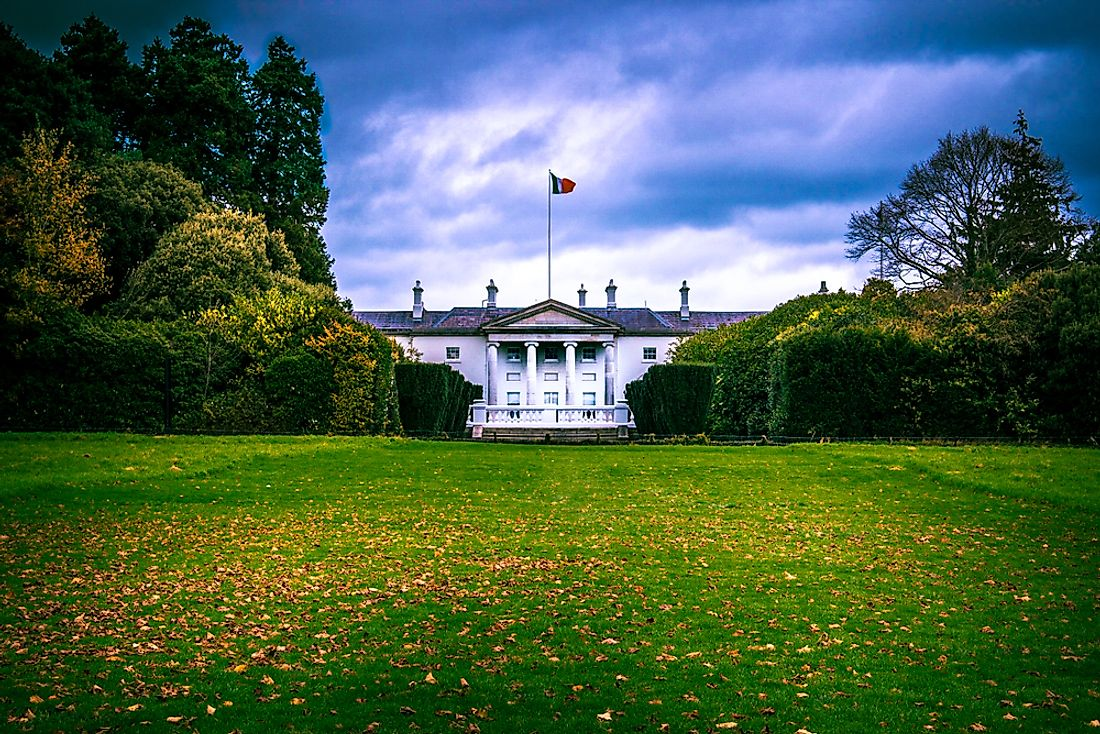 The residence of the President of Ireland.