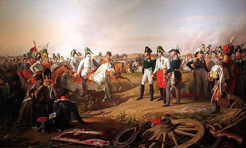 #3 Battle of Leipzig (October of 1813) -