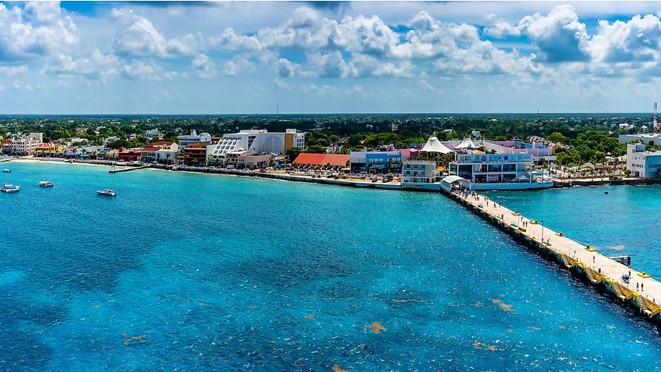 Cozumel, Mexico. Image credit: Timothy L Barnes/Shutterstock