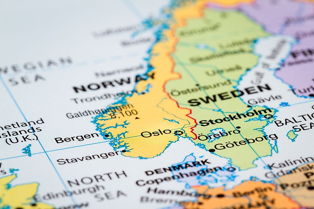 What Are The Scandinavian Countries? - GraphicMaps.com